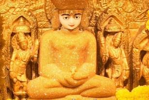 Jain bhagwan's aangi photo
