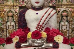 Jain god angi image