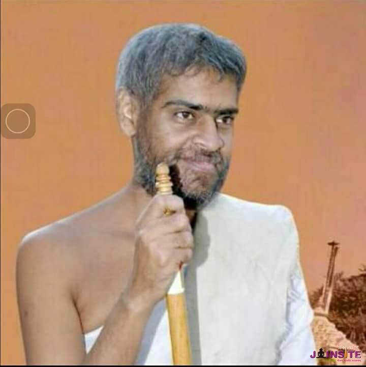 Tapasvi sri Jagatshekar vijayji M.S
