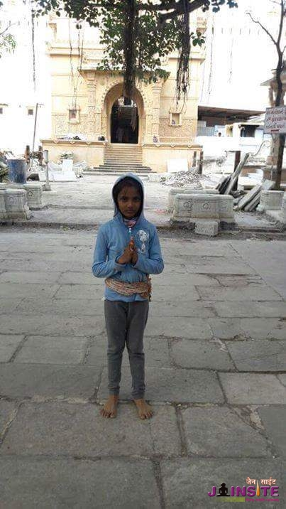 Nishra,a 9 year old girl has fasted for two days without water