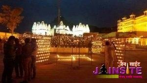 Sri Jiravalla Tirth's decoration