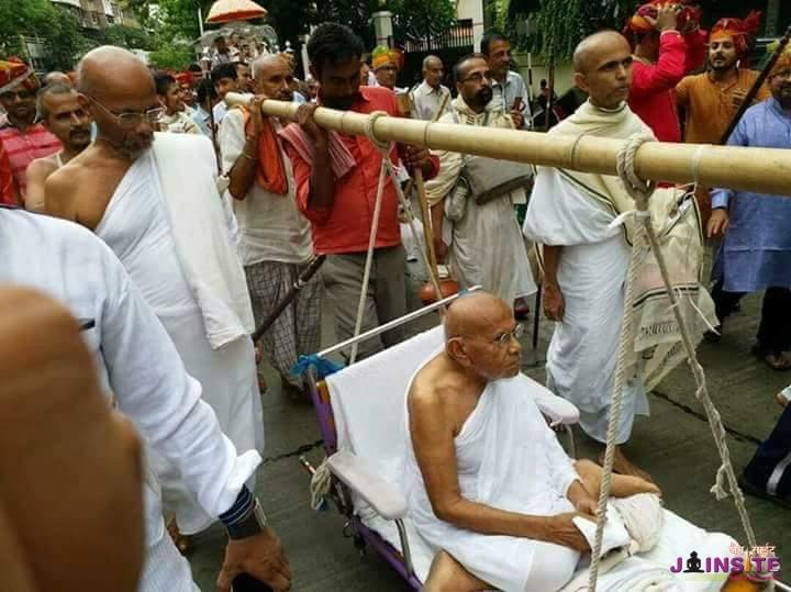 Chaturmas pravesh in Bhayander