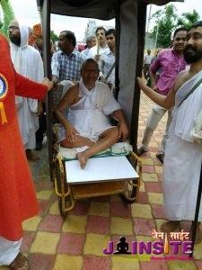 Aa.Rajyashsuriji M.S.ka chaturmas pravesh