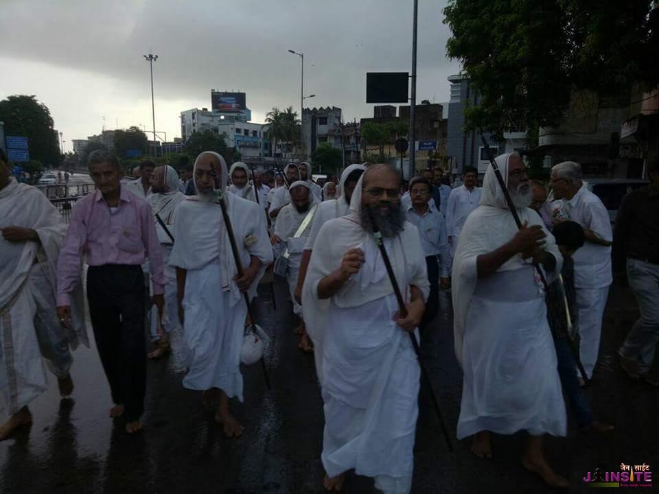 Aa.Somchandrasuriji M.S.ka chaturmas pravesh