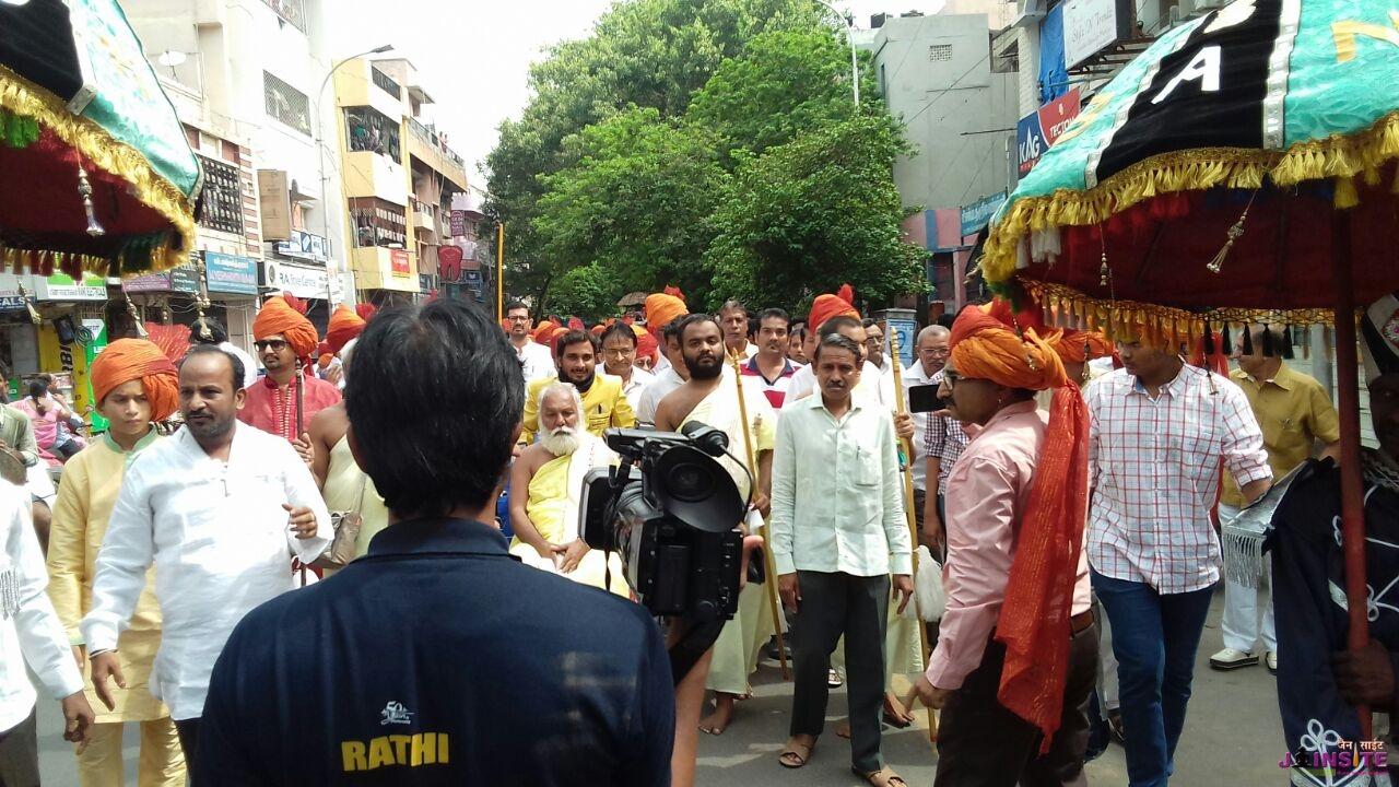 Jainsite praneta Pu.Bhagyachandravijayji M.S.ka chaturmas pravesh…