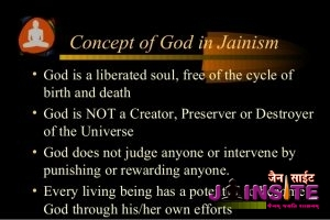 Chapter 01 – Jain Concept of God and Universe