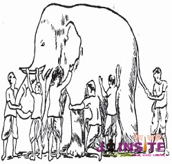 Chapter 29 – Anekäntaväda – An Elephant and The Blind Men
