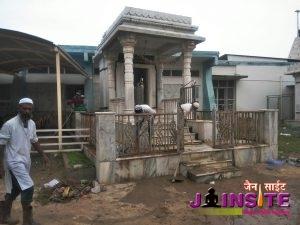Clean Jain temple by muslim caste